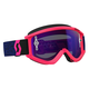 Blue/Fluorescent Pink Recoil XI Goggles w/Purple Chrome Lens - 246485-5406281