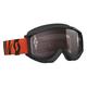 Black/Fluorescent Orange Recoil XI Goggles w/Silver Chrome Lens - 246485-5402269
