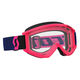 Blue/Fluorescent Pink Recoil XI Goggles w/Clear Lens - 246485-5406113