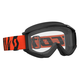 Black/Fluorescent Orange Recoil XI Goggles w/Clear Lens - 246485-5402113