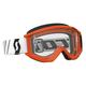 Orange/Black Recoil XI Goggles w/Clear Lens - 246485-1008113