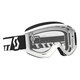 White Recoil XI Goggles w/Clear Lens - 246485-0002113