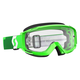 Fluorescent Green Split OTG Goggles w/Clear Lens - 246433-5407113