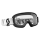 Youth Black Buzz Goggles w/Clear Lens - 246435-0001113