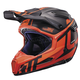 Black/Orange GPX 6.5 Carbon V16 Helmet
