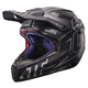 Black/Silver GPX 6.5 Carbon V16 Helmet