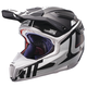 Black/White GPX 6.5 Carbon V16 Helmet