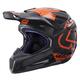 Black/Orange GPX 5.5 Composite V15 Helmet