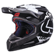 Black/White GPX 5.5 Composite V15 Helmet