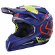 Blue/Lime GPX 5.5 Composite V15 Helmet