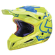 Lime/Blue GPX 5.5 Composite V15 Helmet