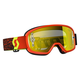 Youth Black/Fluorescent Yellow Buzz Goggles w/Yellow Chrome Lens - 246435-5405289