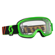 Youth Fluorescent Green Buzz Goggles w/Clear Lens - 246435-5407113