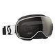 Black/White LCG Snowcross Goggles w/Black Chrome Lens - 246437-1007299