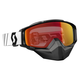 Black Tyrant Snowcross Goggles w/Red Chrome Lens - 246438-0001310
