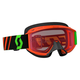 Youth Fluorescent Orange 89Si Snowcross Goggles w/Rose Lens - 246441-5265108