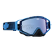 Blue Flash Omen goggle W/Smoke/Light Blue Spectra Lens - 323129717974