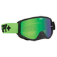 Jersey Green Woot Race Goggle w/Smoke/Green Spectra Lens - 323346476857