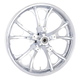 Front Chrome 21 x 3.5 Largo 3D Wheel for ABS - 3D-LGO213CH-ABS
