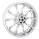Rear Chrome 18 x 5.5 Largo 3D Wheel for Non-ABS - 3D-LGO185CH