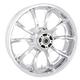 Rear Chrome 18 x 5.5 Largo 3D Wheel for ABS - 3D-LGO185CH-ABS
