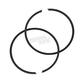 Piston Rings - 60mm Bore - R09-603