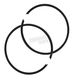 Piston Rings - 81mm Bore - R09-682