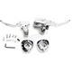 Chrome Handlebar Control Kit  - 0610-1679