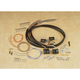Black Complete Handlebar Wiring Harness - 27299