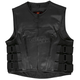 Adjustable Leather Vest w/Side Straps