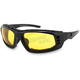 Chamber Sunglasses w/Yellow Lens - ECBR001Y