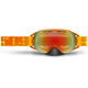 Neon Orange Limited Edition Revolver Goggles w/Fire Mirror/Clear Lens - 509-REVGOG-17-NO