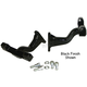 Black Reduced Reach Passenger Footboard Brackets - 24138