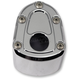 Chrome Bomber Series Ignition Cover - IC-BS04-C
