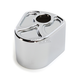 Chrome Spiro Series Ignition Cover - IC-SS04-C