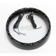 Black 7 in. LED Halo Headlight Trim Ring - CDTB-7TR-4B