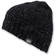 Black Heather Niva Merino Wool Beanie - 20115-001-01
