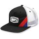 Youth  Black Cornerstone Trucker Hat - 20050-001-00