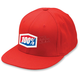 Red Essential Flex Fit Hat
