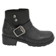 Women's Black Capri Boots