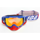 Racecraft Republic Goggles w/Mirror Red Lens - 50110-187-02
