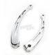 Chrome Spiro Series Heel Toe Shifter Lever - SA-HTSS-C