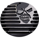 Black Machine Head 5-Hole Derby Cover - C1076-B