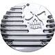 Chrome Machine Head 5-Hole Derby Cover - C1076-C