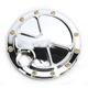 Chrome Bomber Series Fuel Door - BS-FD-C