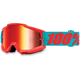 Accuri Passion Orange Goggles w/Mirror Red Lens - 50210-197-02