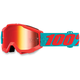 Accuri Youth Passion Orange Goggles w/Mirror Red Lens - 50310-197-02