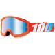 Strata Youth Orange Goggle w/Mirror Blue Lens - 50510-006-02
