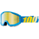 Strata Youth Cyan Goggles w/Mirror Gold Lens - 50510-012-02