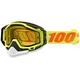 Yellow Racecraft Snow Goggles w/Dual Yellow Lens - 50103-026-02